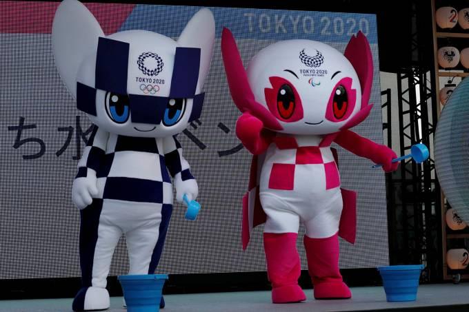 Mascote das Olimpíadas de Tóquio 2020
