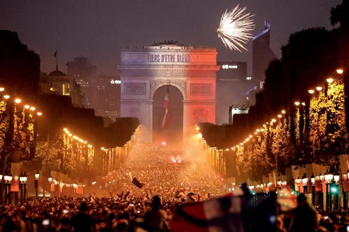 Imagem da Semana – Nacionalismo multicolorido
