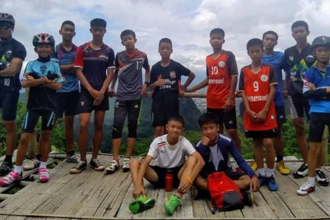 garotos tailândia