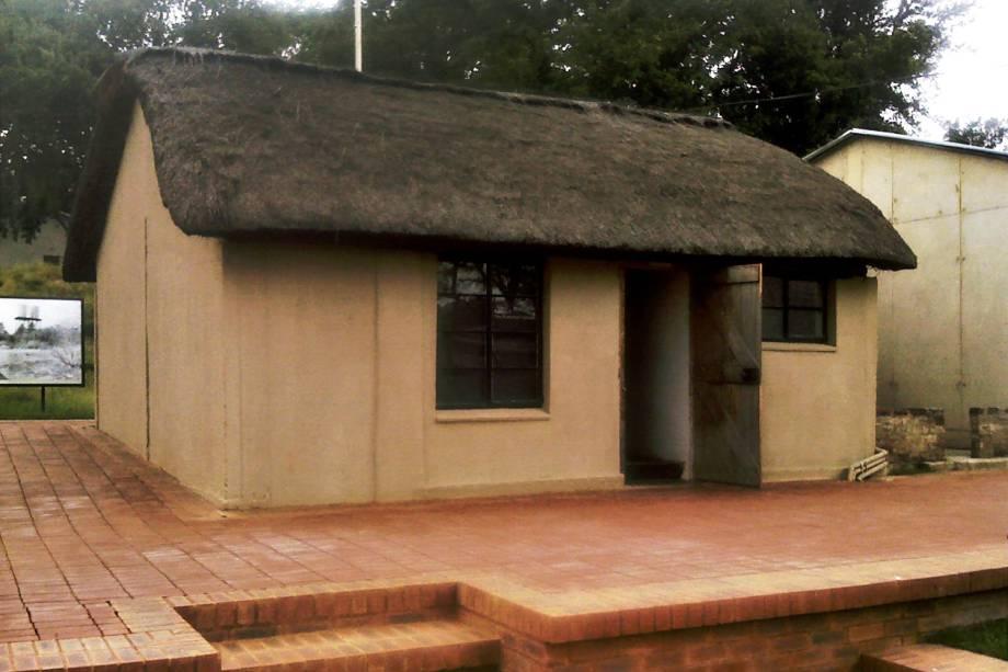 Casa na Fazenda Lilliesleaf onde Nelson Mandela e seus companheiros foram presos em 1962