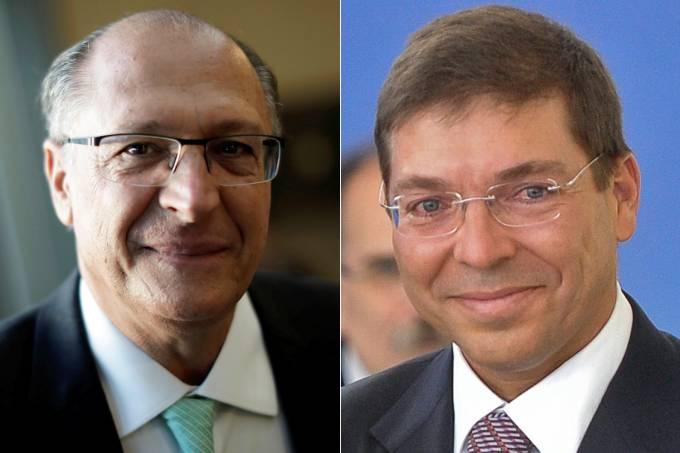 Geraldo Alckmin e Josué Gomes