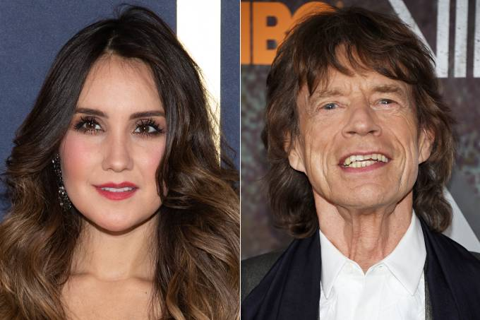 Dulce Maria e Mick Jagger