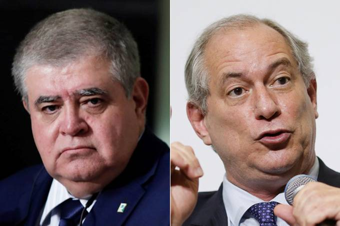 Carlos Marun e Ciro Gomes