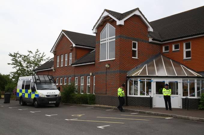 Envenenamento em Amesbury, na Inglaterra