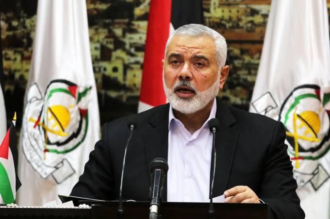 Ismail Haniya, líder do Hamas