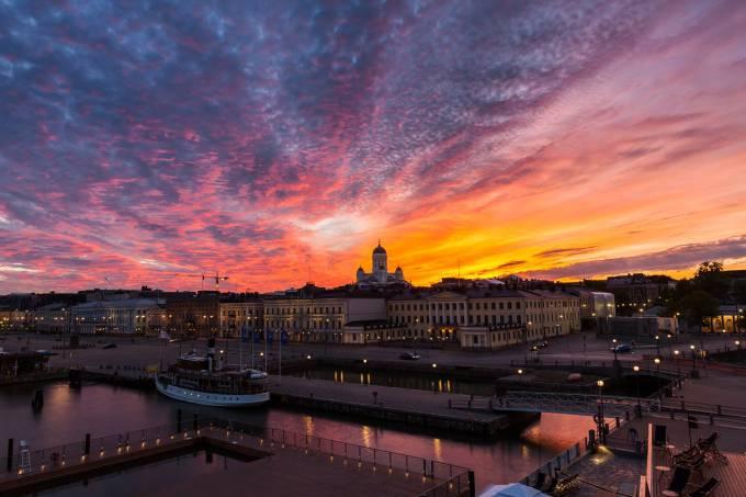 Helsinque, capital da Finlândia