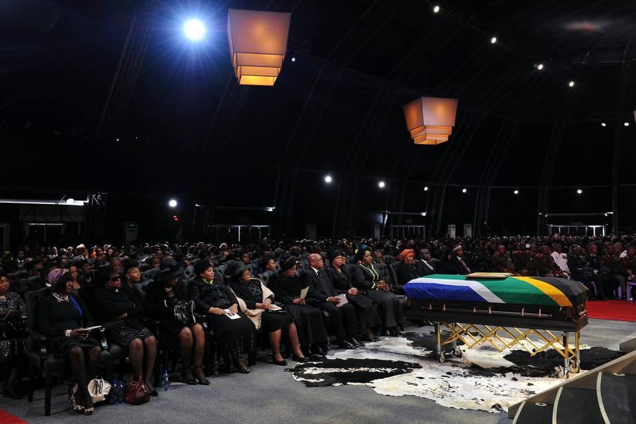 Funeral de Nelson Mandela em Qunu, África do Sul - 15/12/2013