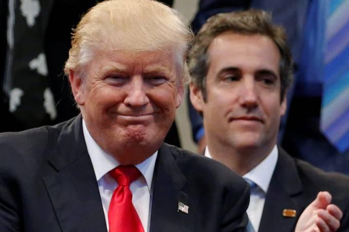 Donald Trump e Michael Cohen