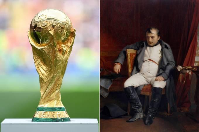 Taça e Napoleão Bonaparte