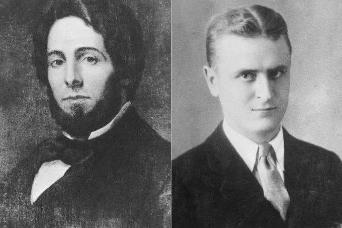 Herman Melville e Scott Fitzgerald