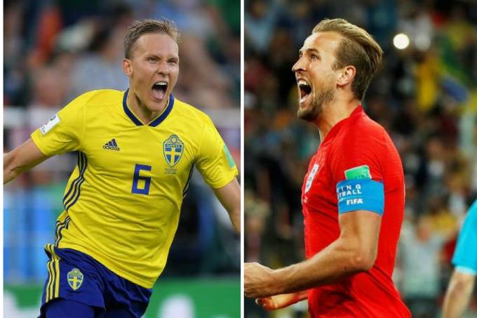 Suécia e Inglaterra se classificam para as quartas de final da Copa do Mundo