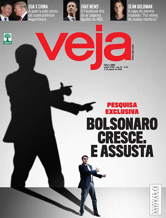 levantar Lamer Desviación  Bolsonaro cresce. E assusta | VEJA