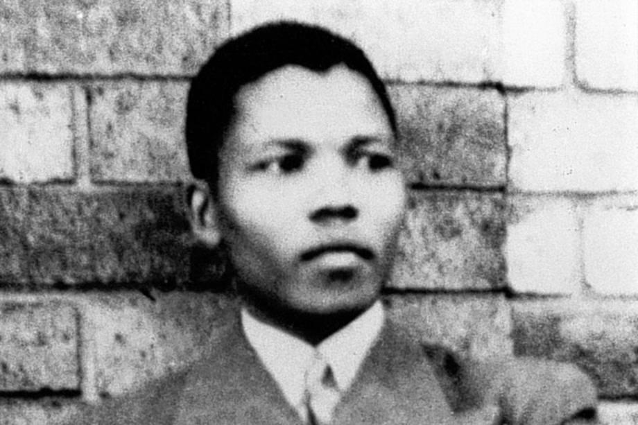 Nelson Mandela em 1937