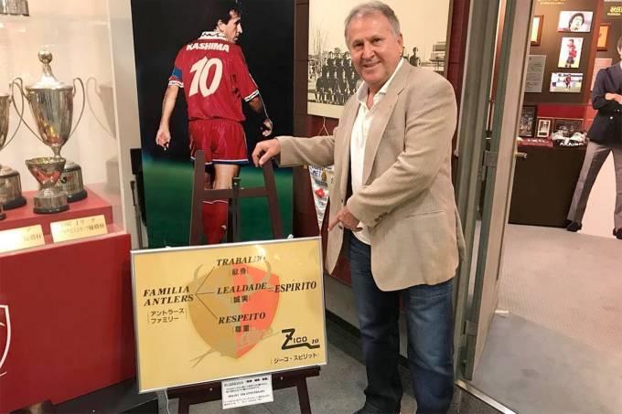 Zico anuncia retorno ao Kashima Antlers