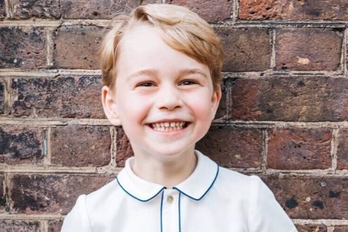 Príncipe George completa 5 anos – 21/07/2018