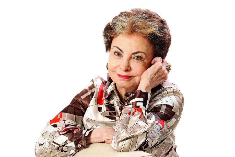 Beatriz Segall em retrato feito no ano de 2013
