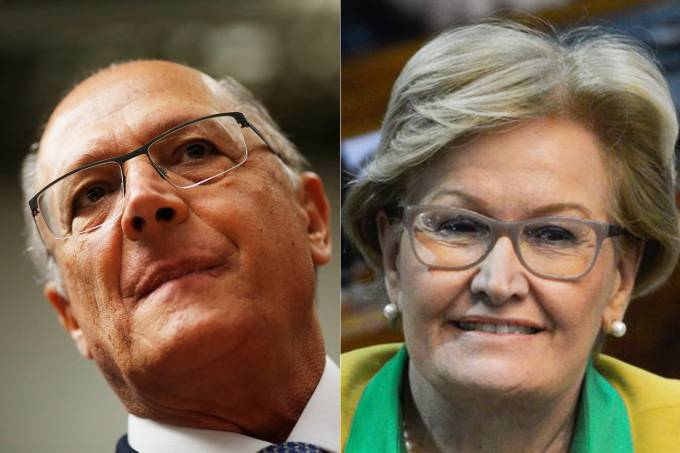 Geraldo Alckmin e Ana Amélia