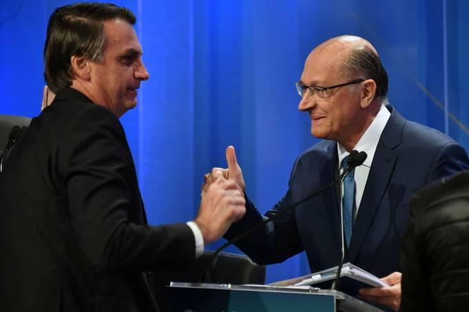 Debate RedeTV! – Jair Bolsonaro e Geraldo Alckmin