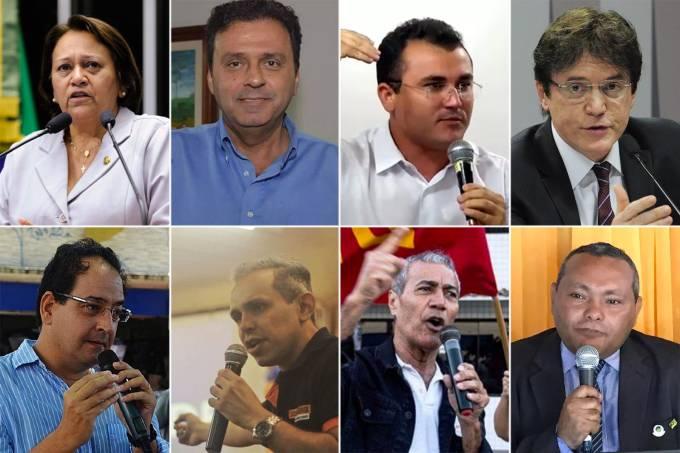 Candidatos ao governo do Rio Grande do Norte