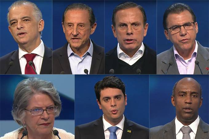 Os candidatos ao governo do Estado de São Paulo