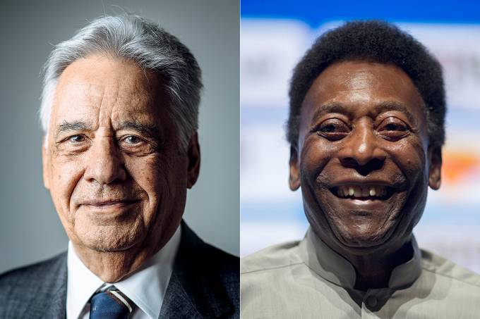 Fernando Henrique Cardoso e Pelé