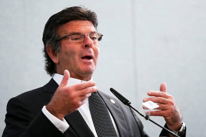 O presidente do TSE, Luiz Fux