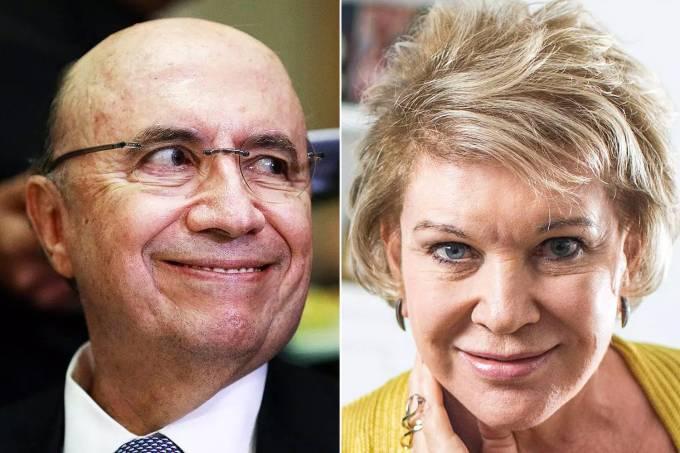 Marta Suplicy pode ser a vice de Henrique Meirelles