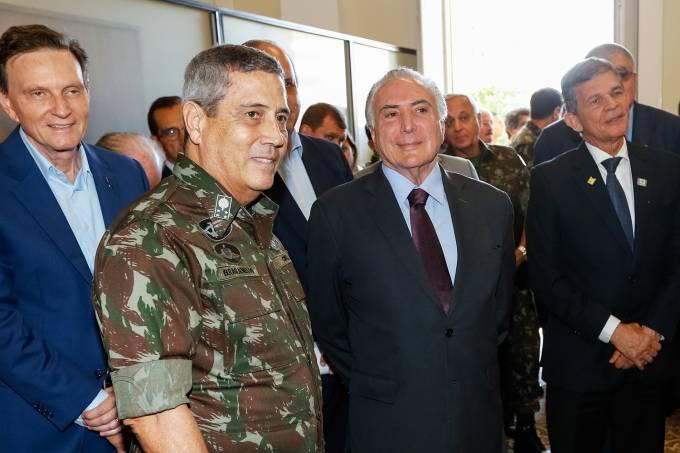 Michel Temer e General Braga Netto