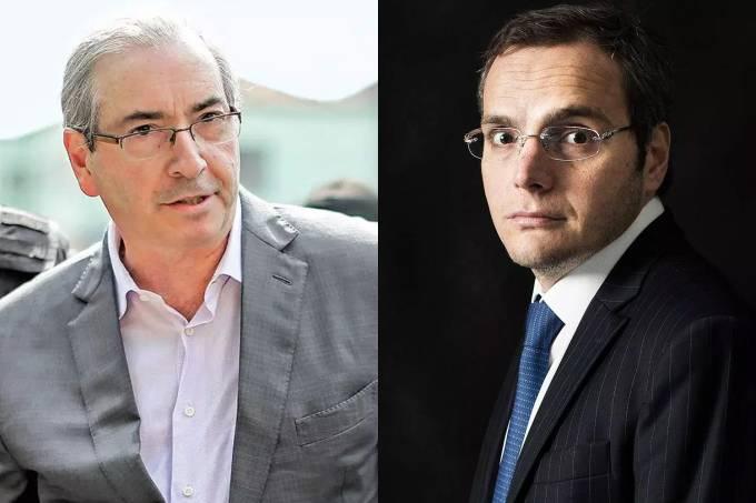 Eduardo Cunha e Lúcio Funaro