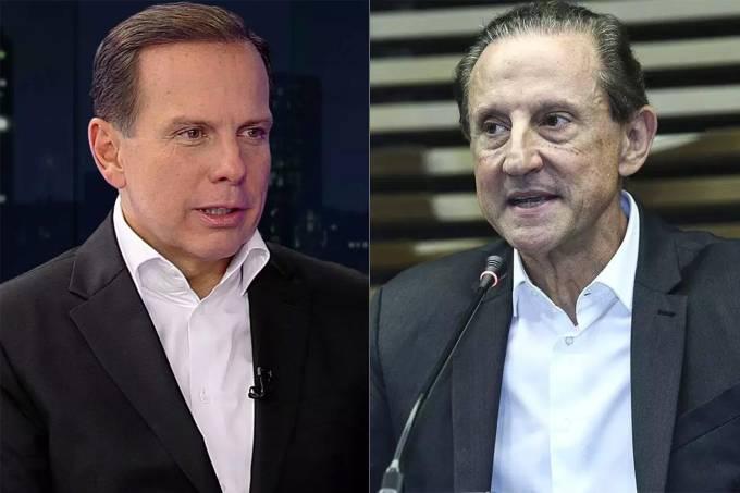 João Doria e Paulo Skaf