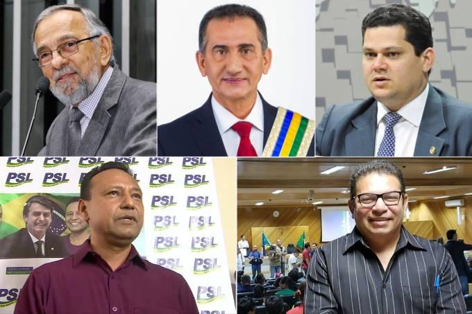 Os candidatos ao governo do Amapá