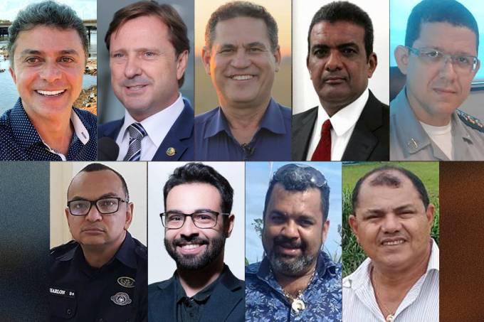 Candidatos ao governo de Rondônia