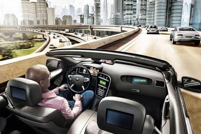 Carro autônomo – Andar para a frente