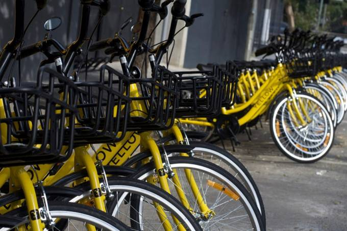 Yellow chega às ruas da cidade de São Paulo