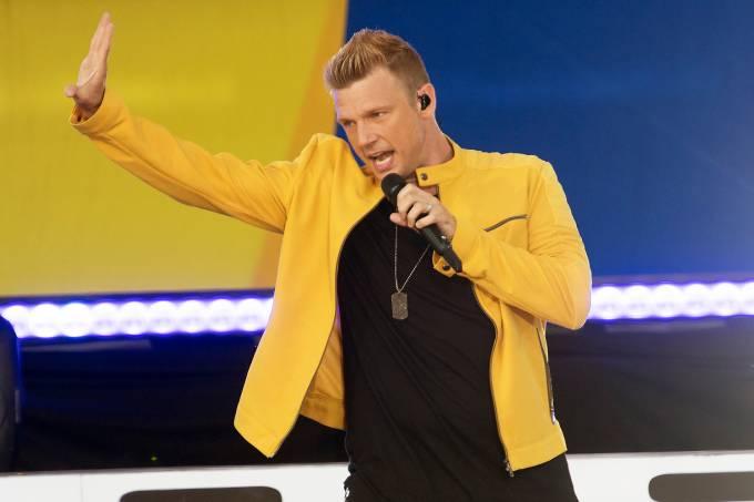 Nick Carter, integrante do Backstreet Boys