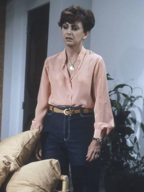 Beatriz Segall na novela 'Água Viva', da Rede Globo, de 1980