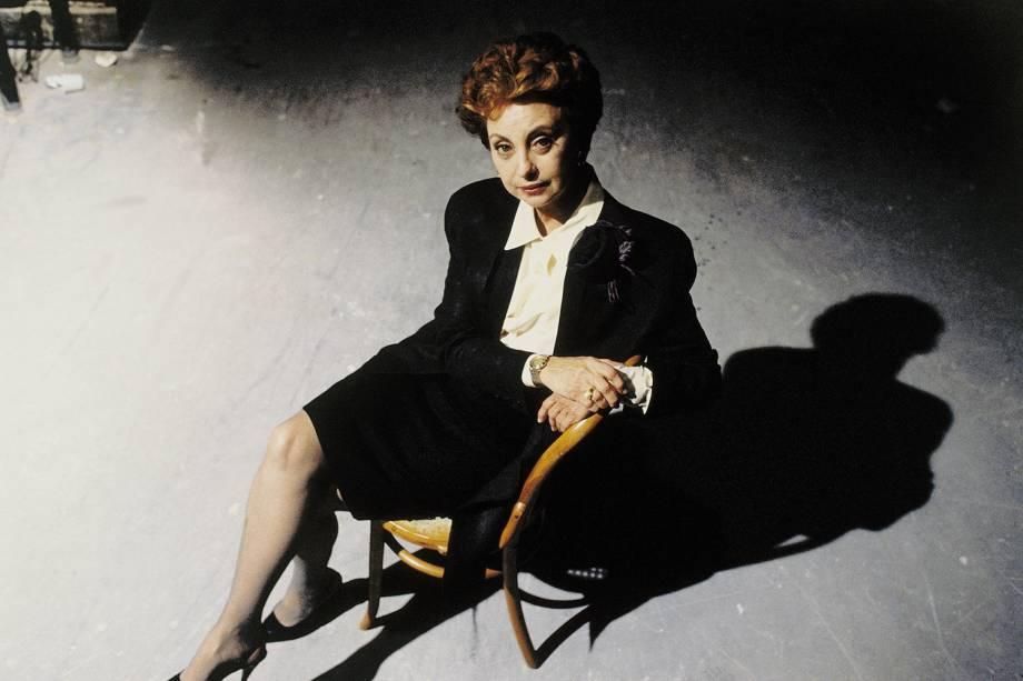 Beatriz Segall na novela 'Vale Tudo', da Rede Globo, em 1988