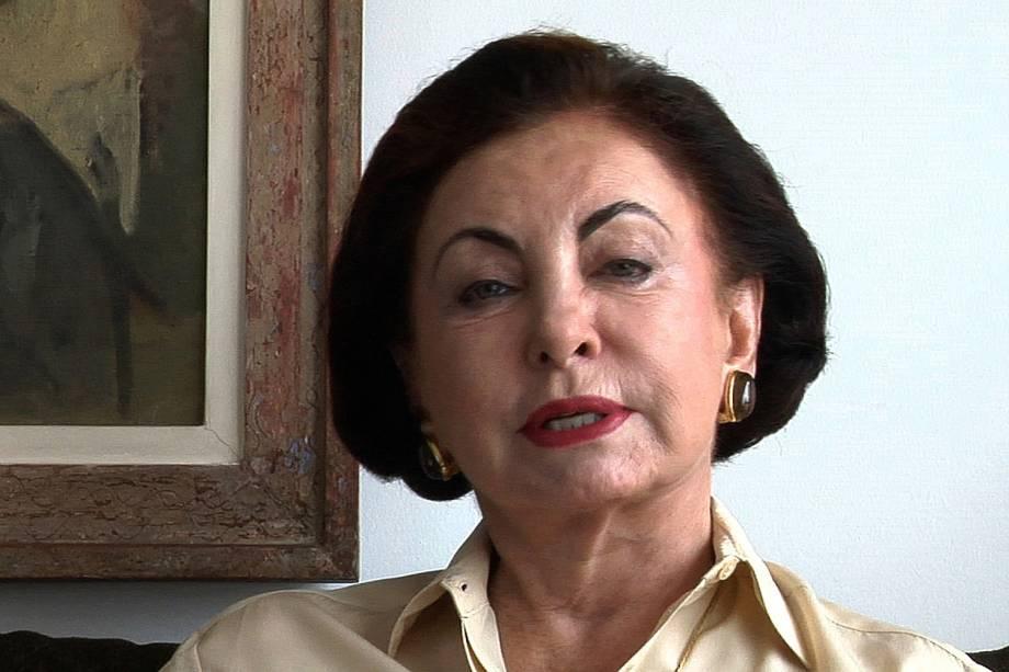 Beatriz Segall no documentário 'Fora do Figurino - As Medidas do Jeitinho Brasileiro', de Paulo Pélico, em 2011
