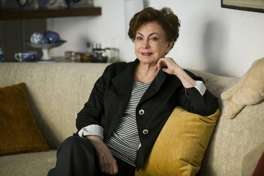 A atriz Beatriz Segall em retrato de 2011
