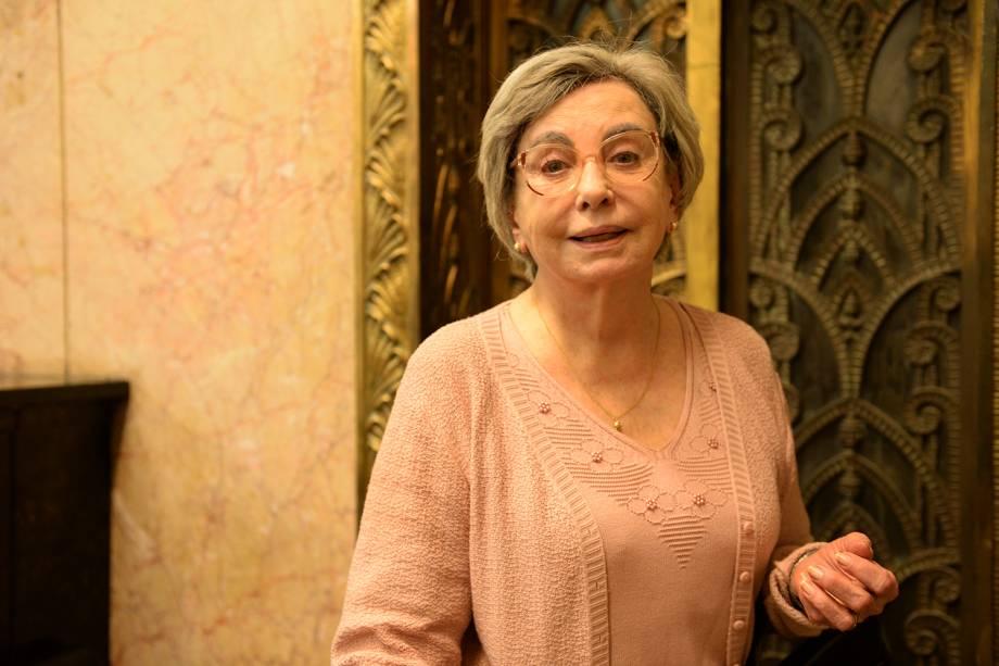 Yolanda (Beatriz Segall), na série 'Os Experientes', da TV Globo, em 2015