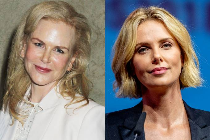 Nicole Kidman e Charlize Theron