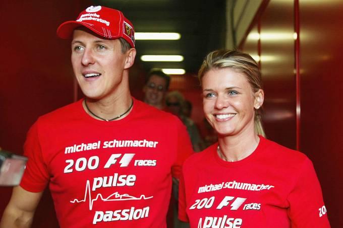 Michael Schumacher e Corina Schumacher