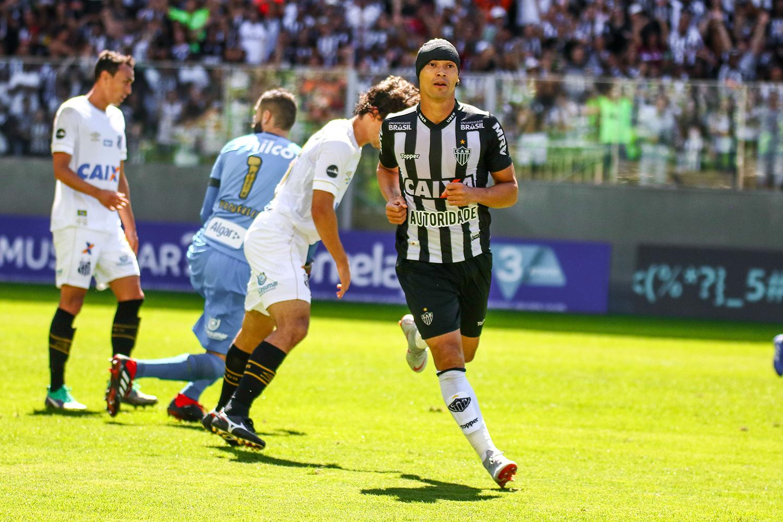 Atletico Mg Bate O Santos Com Dois Gols Do Ex Ricardo Oliveira Veja