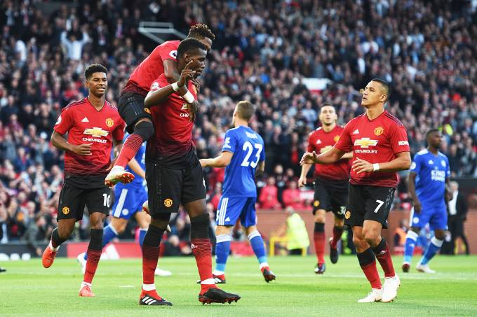 Campeonato Inglês – Manchester United x Leicester