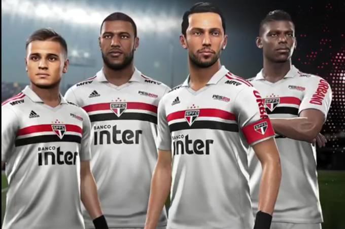 São Paulo fecha patrocínio com a Konami