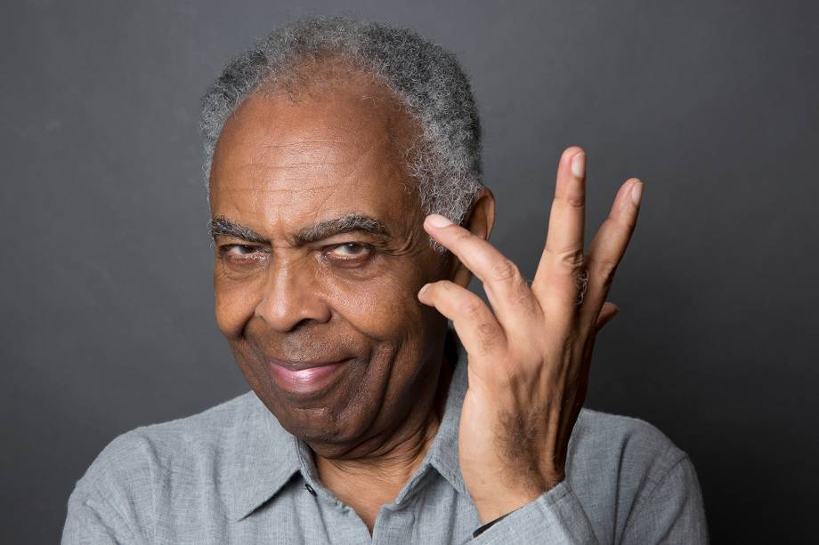 O cantor e compositor Gilberto Gil - 05/04/2018