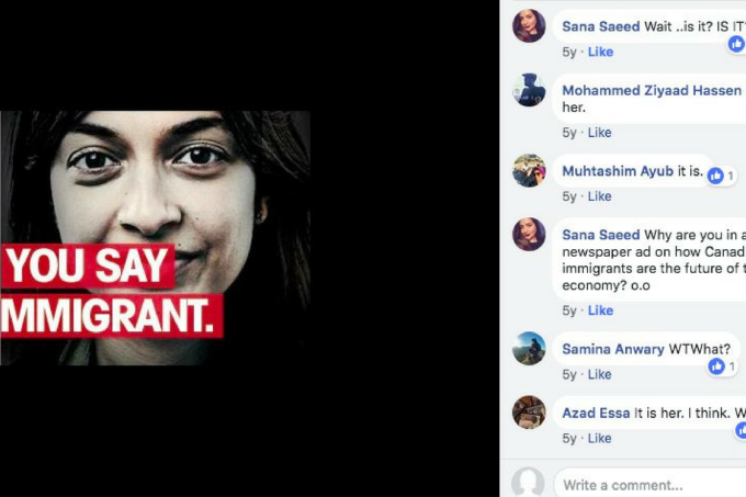 imigrante propaganda