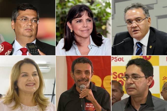Candidatos ao governo do Maranhão