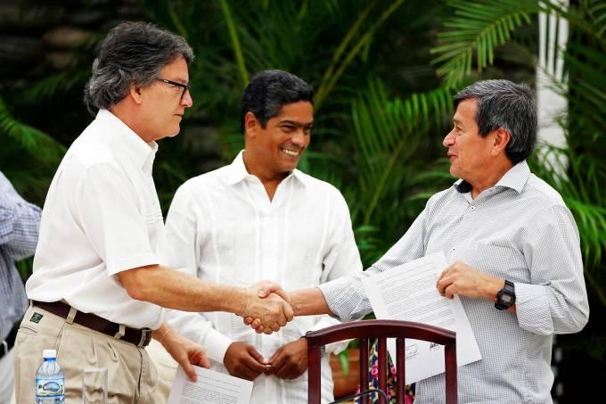 Negociações com a guerrilha ELN