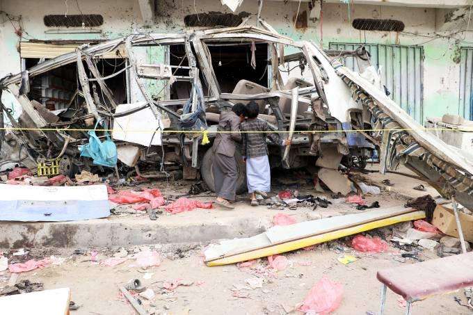 Bombardeio no Iêmen